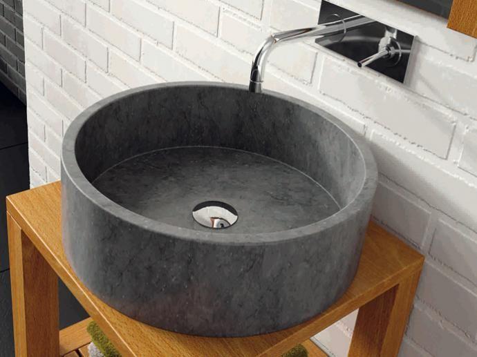 17 best images about lavabos de piedra stone washbasin - Lavabos de piedra ...