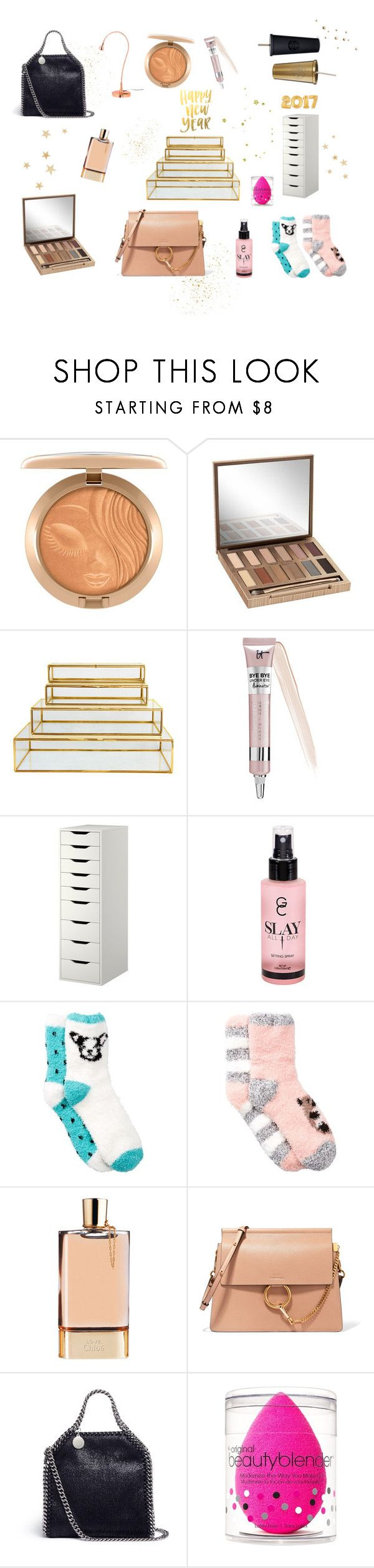 """""""Wishlist 2016 Christmas"""" by beristenbul ❤ liked on Polyvore featuring Urban Decay, &klevering, Sephora Collection, Gerard Cosmetics, Free Press, Chloé, STELLA McCARTNEY and beautyblender"""