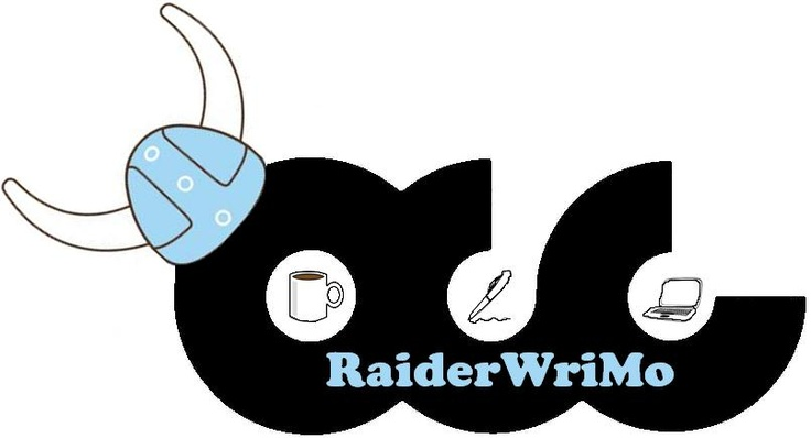Logo for the Oakton Community College NaNoWriMo writers.  It was created by Lori Oster.  We're writing 50,000 words during November with National Novel Writing Month!