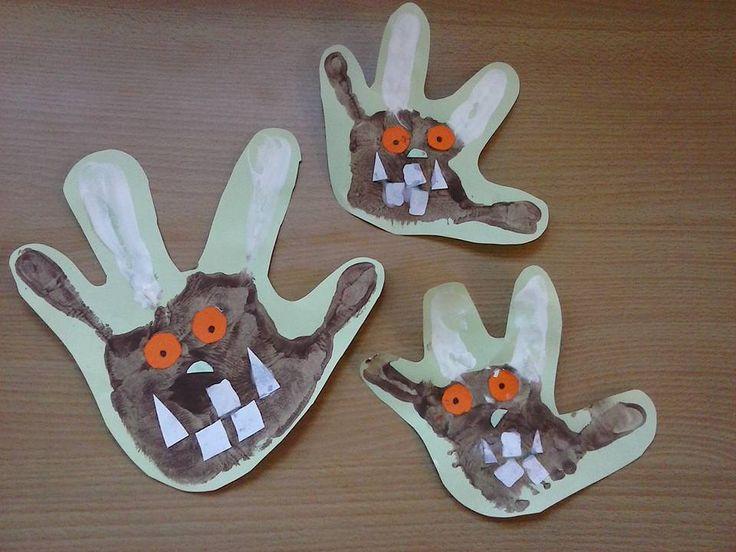 Gruffalo Handprints!