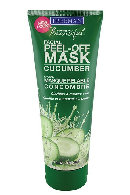 """A Peel-Off Mask For Every Skin Issue #refinery29  http://www.refinery29.com/peel-off-masks#slide-6  Dryness, Irritation Look for soothing, moisturizing ingredients, like cucumber and aloe vera. """"I love cucumber as an ingredient because it works universally for all skin types,"""" says Vargas. """"It's a natural anti-inflammatory, so it's great for irritated skin."""" Besides cucumber extract, this mask has aloe vera and vitamin A. The best part? It only takes five to 10 minutes. And,..."""