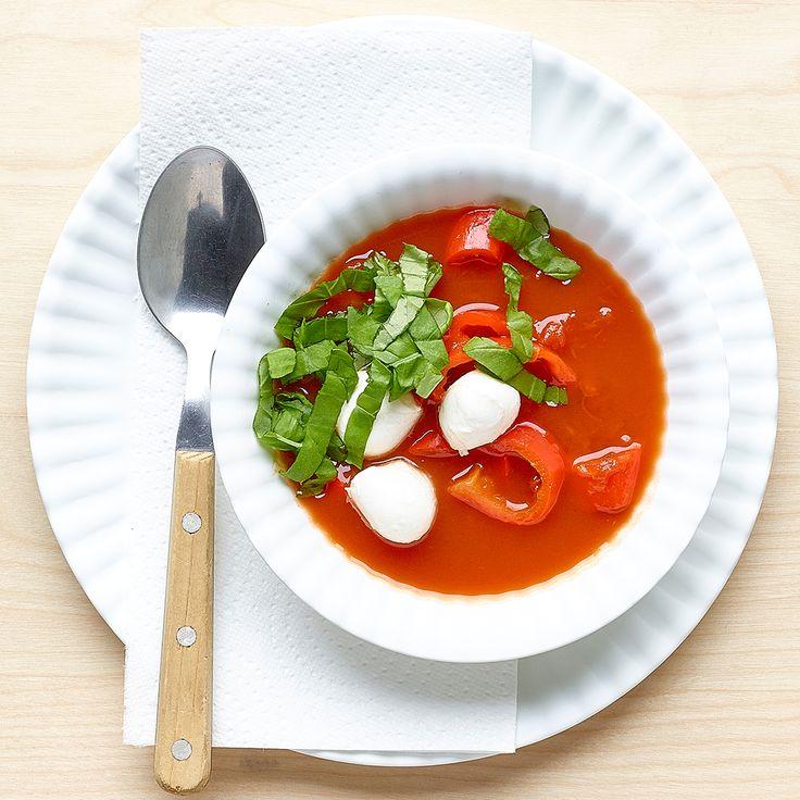 25 beste idee n over tomaten mozzarella op pinterest tomaten mozzarella salade tomaat - Ideeen van voorgerecht ...