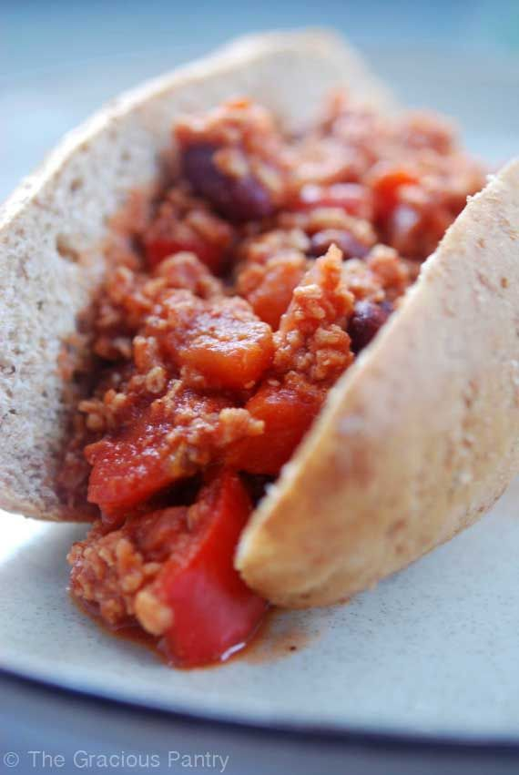 Clean Eating Chili Dogs > I would probably do this with a Nathans Kosher Hot Dog since its cookout season!
