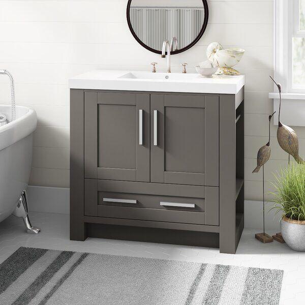 Cedeno 35 Single Bathroom Vanity Set In 2020 Single Bathroom Vanity Bathroom Vanity Vanity