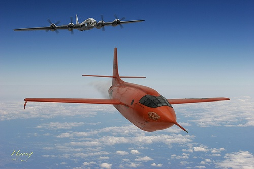 Bell X-1 Chuck Yeager by Hyong, via Flickr