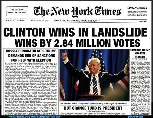 Clinton wins in a landslide, Trump wins the presidency. It's time to get rid of the electoral college.