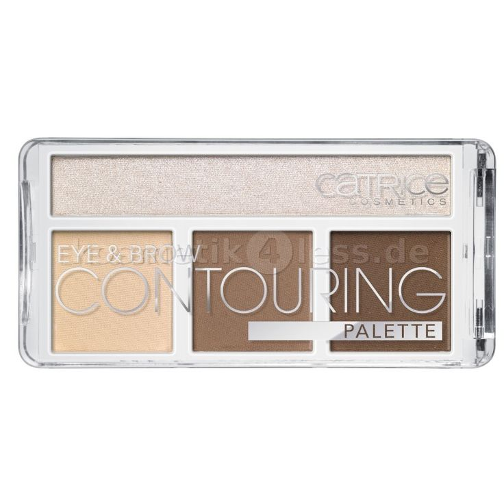 Catrice - Kontur Palette -  Eye & Brow Contouring Palette - 020 But First Hot Coffee -  Cosmetics & False Eyelashes
