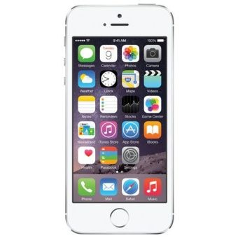 (Refurbished) Apple iPhone 5S 64gb (Silver)  [Grade A]