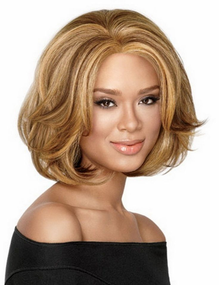 Новое Прибытие 35 см Синтетические Афроамериканца Знаменитости Партия Волосы Короткие Светлые Ломбер Парик Для Чернокожих Женщин
