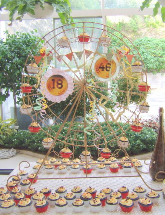Coachella-Themed Party cakes