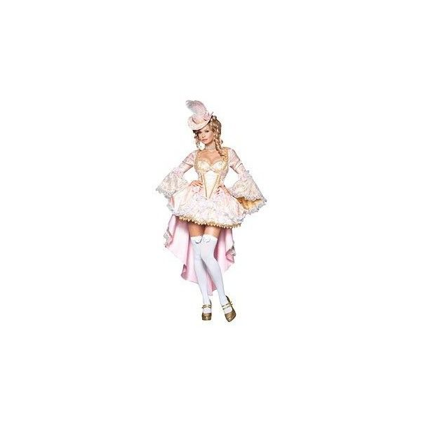 Elite Adult Sexy Vixen of Versailles Marie Antoinette Costume ($212) ❤ liked on Polyvore featuring costumes, adult halloween costumes, marie antoinette costume, womens halloween costumes, sexy halloween costumes and sexy women halloween costumes