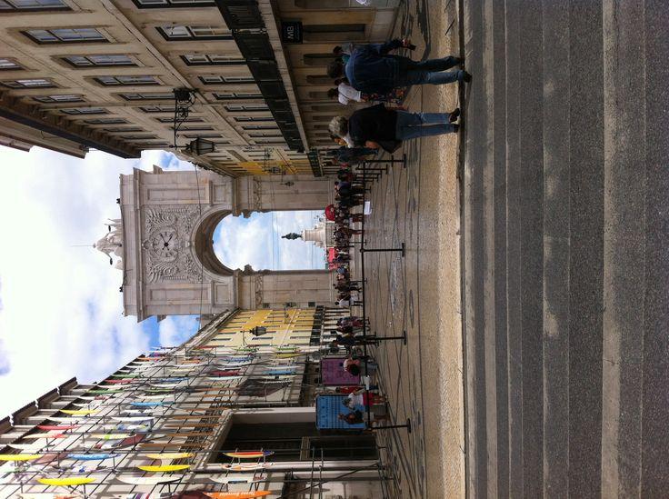 Lisboa arco del triunfo