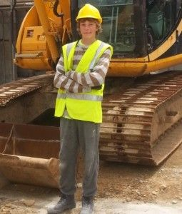 Ashley Perry started his #Apprenticeship career as a project worker with an intermediate apprenticeship in Bricklaying, and is now working for Ableway Developments.