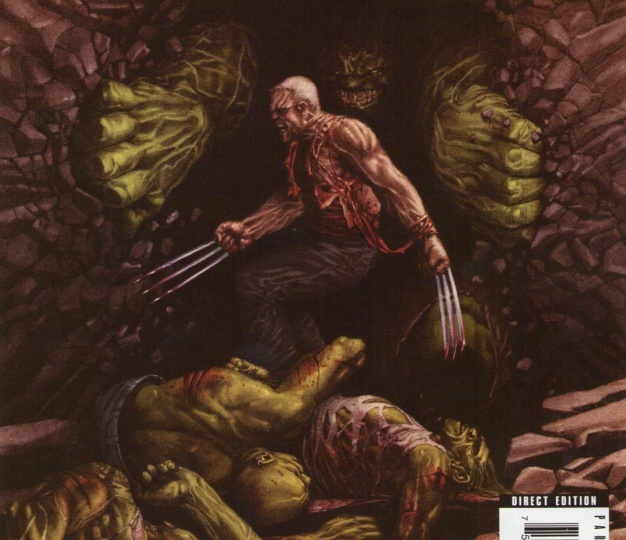 Old Man Logan vs The Hulk