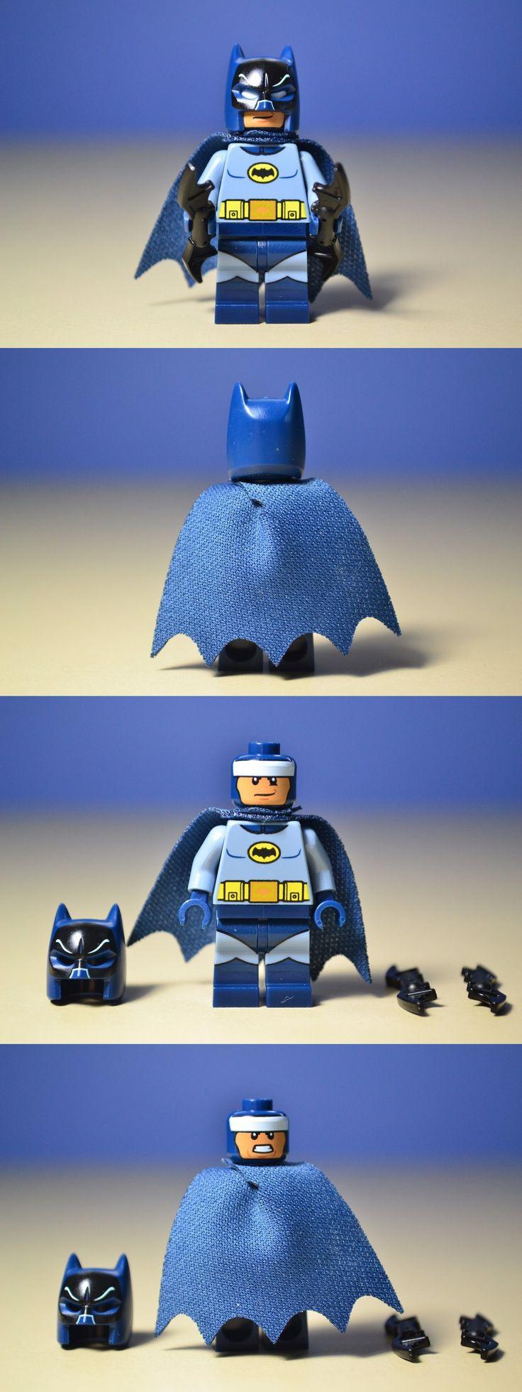 Minifigures 19001: Lego Dc Universe Batman Classic Tv Series 76052 Batman Minifigure -> BUY IT NOW ONLY: $39.75 on eBay!