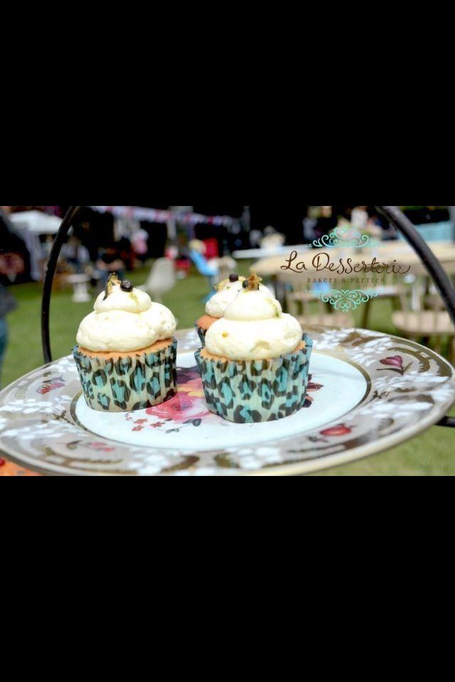Cupcakes Inspiración Gin and Tonic