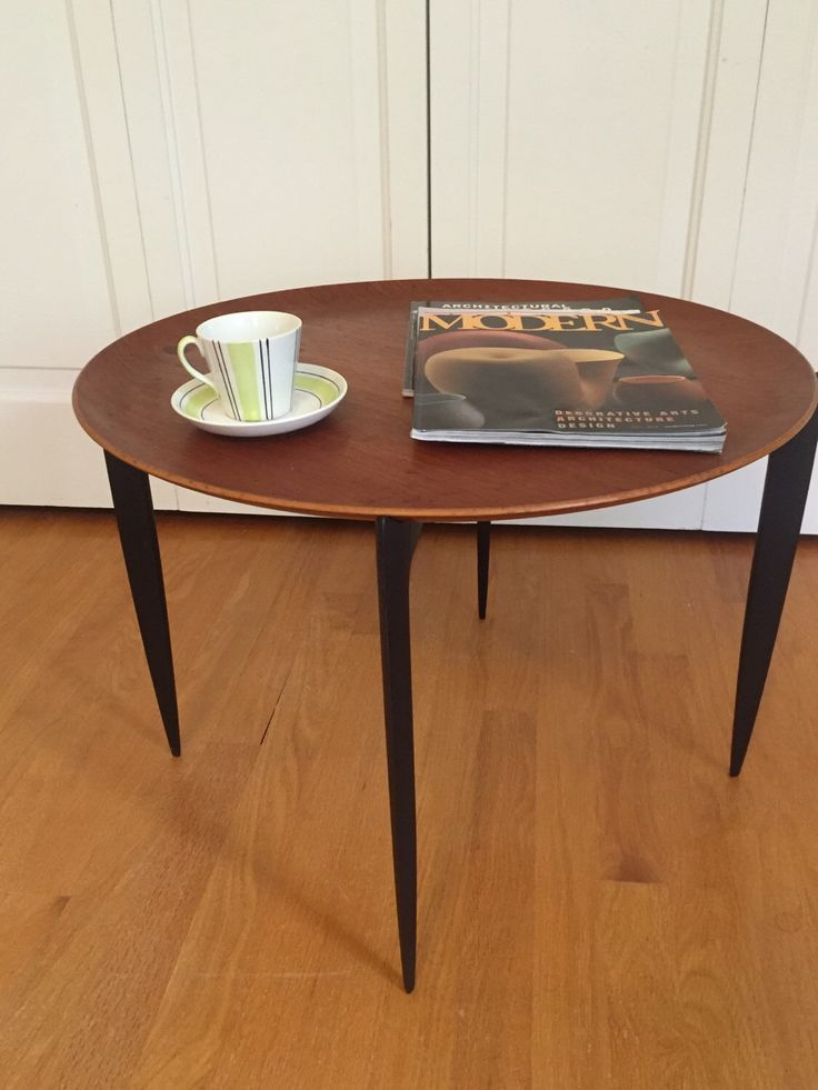 A personal favorite from my Etsy shop https://www.etsy.com/listing/264551561/fritz-hansen-table-danish-folding-table