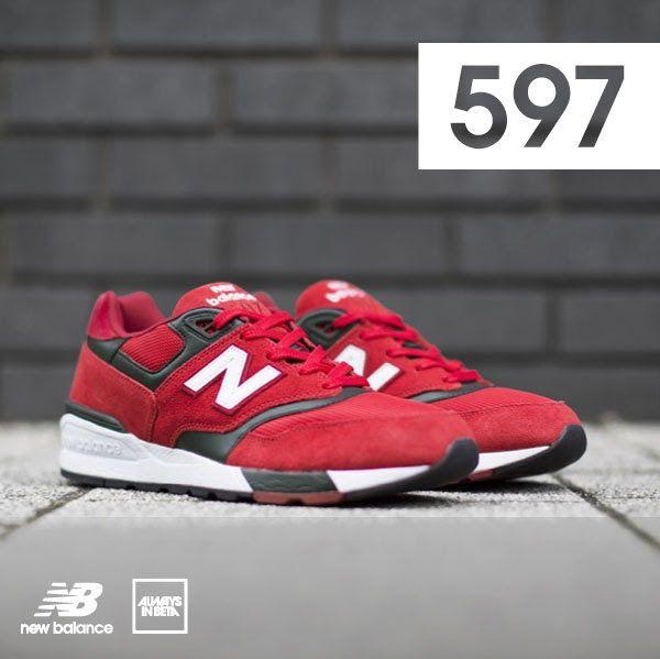 sale retailer fa603 94d86 new balance 597 red,n balance spa