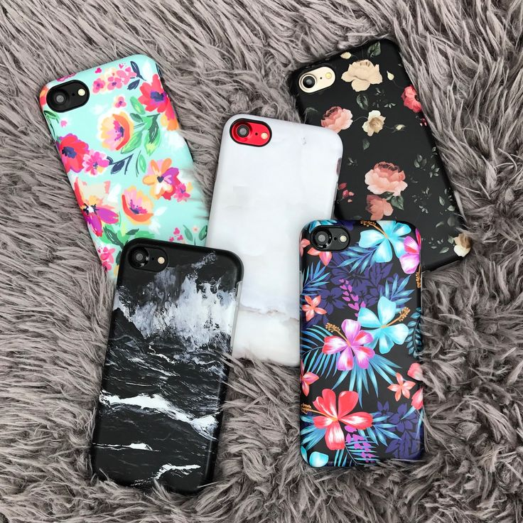 Group photo Floral & Marble Cases for iPhone 7 & iPhone 7 Plus from Elemental Cases. Shop our entire Summer 2017 collection now