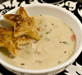 Cream of Chicken and Artichoke Soup-copycat Cheesecake Factory- best soup I have ever had!