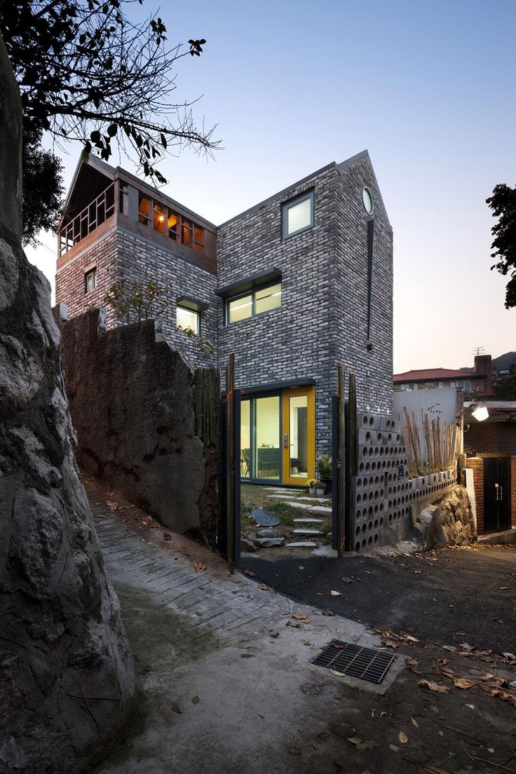 Blooming house with wild flowers studio gaon