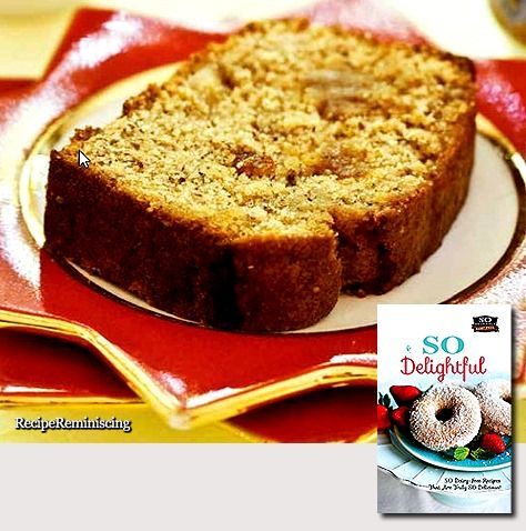 Dairy-Free Marzipan Tea Cake/ Marsipantekake Uten Meieriprodukter