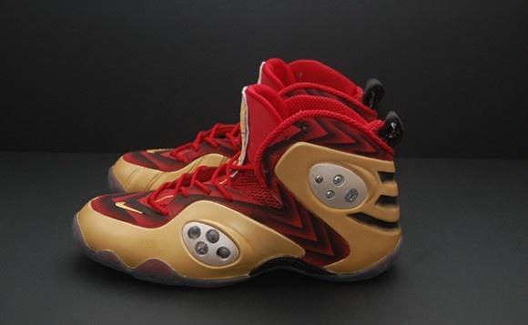 sale retailer d7d2d bf9df ... Nike Zoom Rookie Iron Man 3 Custom ...