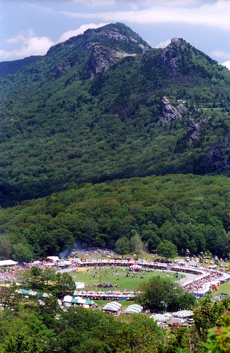 Highland Games at Grandfather Mountain, NC.  My grandma says it's a blast!