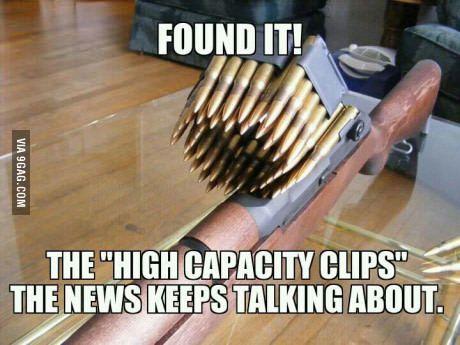 Got that high capacity en-bloc clipazine