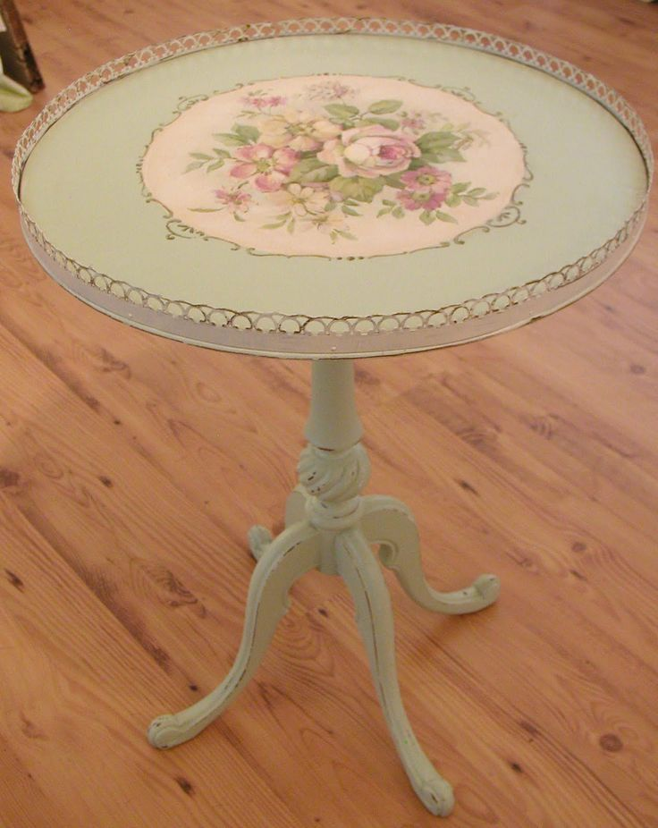 Christie's handpainted table