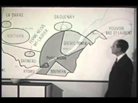 Histoire du Québec 26 - Nationalisation de l'Électricité