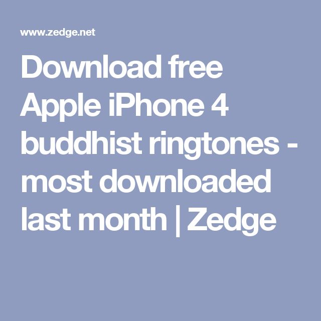 zedge ringtone free download for iphone