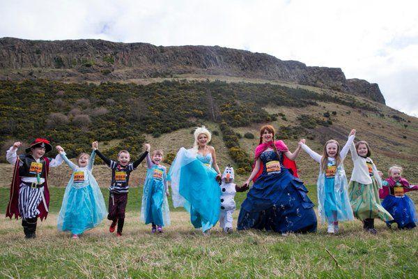 Fancy dress is encouraged at the Junior Great Edinburgh Run