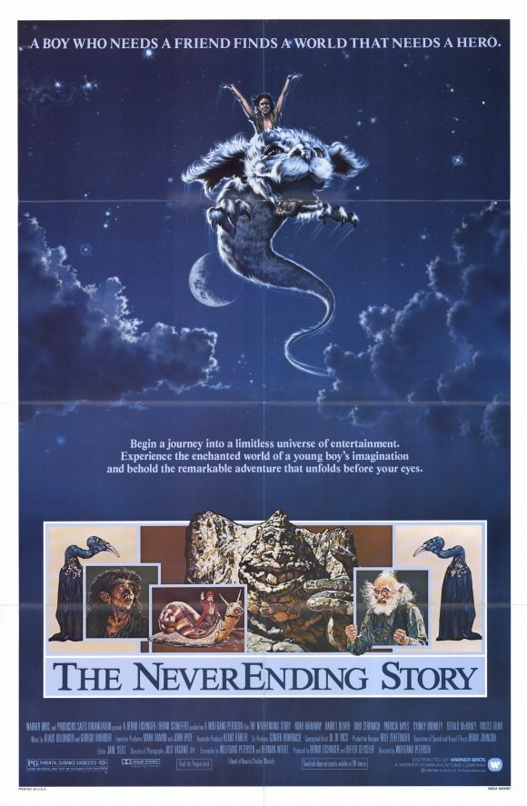The NeverEnding Story,  a wonderful movie.