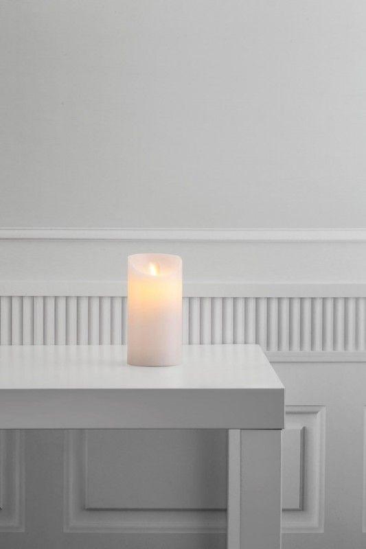 Nordlux Oceane LED Kerze H: 15cm mit Timer u. Batteriebetrieb