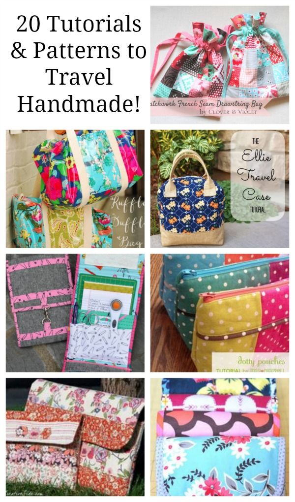 travel handmade round up 20 tutorials