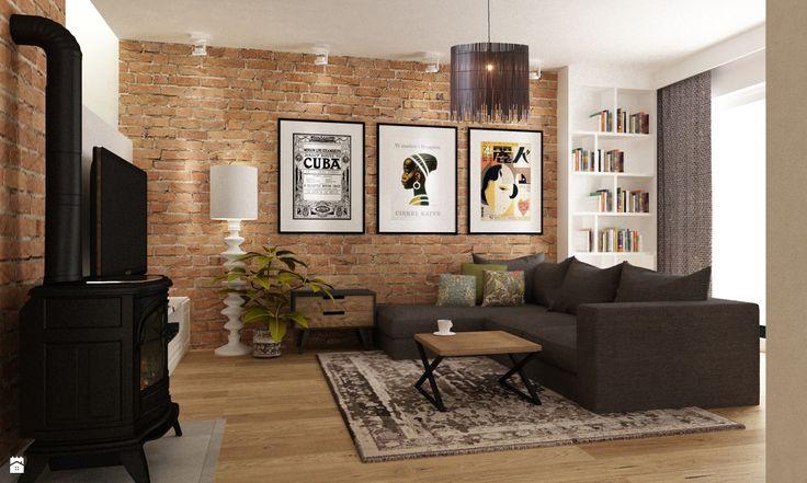 Wystrój wnętrz - Salon - styl Eklektyczny. Projekty i aranżacje najlepszych designerów. Prawdziwe inspiracje dla każdego, dla kogo liczy się dobry gust i nieprzeciętne rozwiązania w nowoczesnym projektowaniu i dekorowaniu wnętrz. Obejrzyj zdjęcia!
