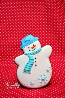 Christmas snowman. Master class by Даша Рокицкая.