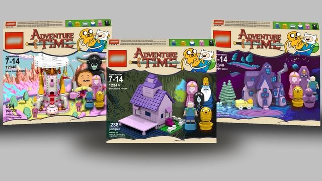 AHHHH! Adventure Time LEGOS!!!!