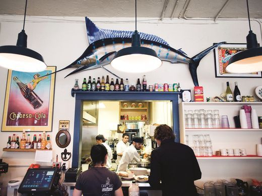 There is always something and somewhere new to eat in San Francisco. The industrial Dogpatch area is now attracting diners to restaurants like Just for You Cafe.