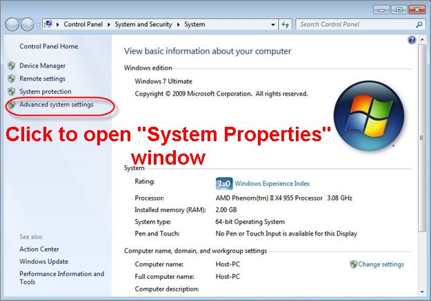 How to Fix Low Virtual Memory Problems on Windows 7
