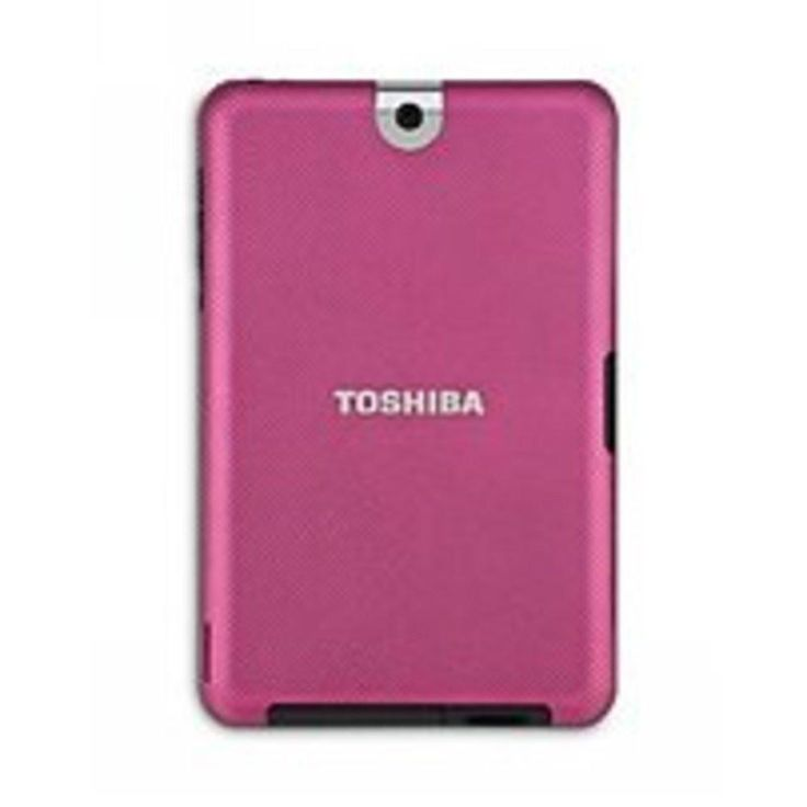 Toshiba PA3966U-1EAR Back Cover Case - Tablet 10-inch PC Compatibility - Slip Resistant - Raspberry Fusion