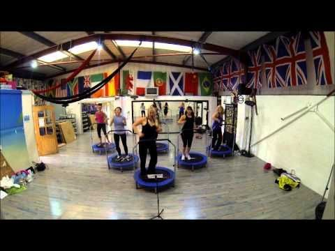 awesome Boogie Bounce Extreme fitness class uk - mini trampoline - rebounder - bouncer - work outby http://dezdemoonfitnes.gdn