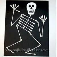 halloween knutselen skelet - Google zoeken