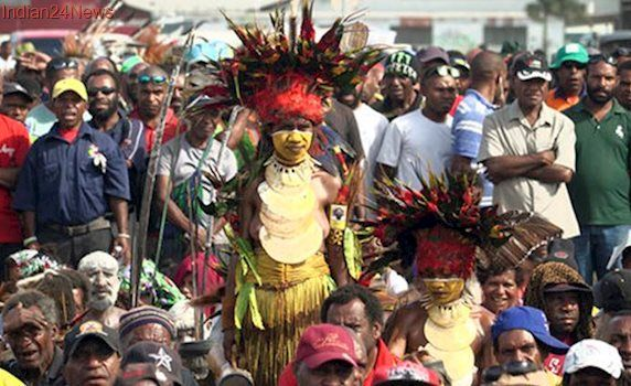 Voting in Papua New Guinea marred by problems with electoral rolls, disruptions