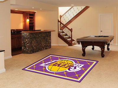 area rug 5x8 los angeles lakers