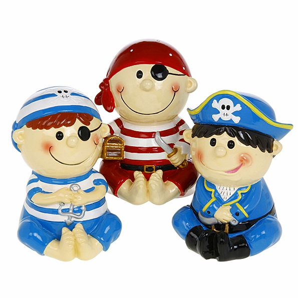 Childrens Money Box - Pirates - The Pink Monkey Company Ltd