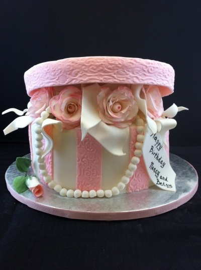 Decorating Hat Boxes Simple Best 25 Hat Box Cake Ideas On Pinterest  Bow Cakes Fashion Design Inspiration