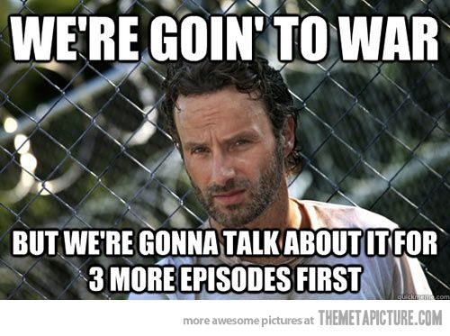 The Walking Dead lately…