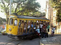 Tram in Santa Tereza